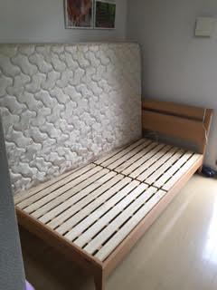 ベッド解体処分、